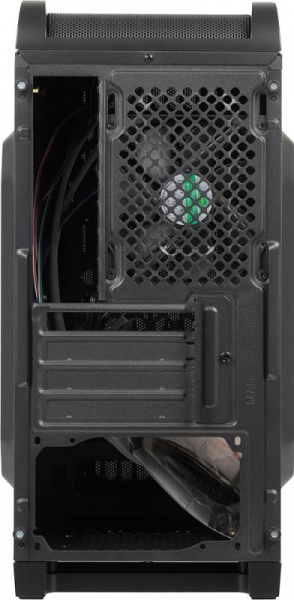 Корпус Aerocool Qs-240 черный w/o PSU mATX 4x120mm 2xUSB2.0 1xUSB3.0 audio bott PSU